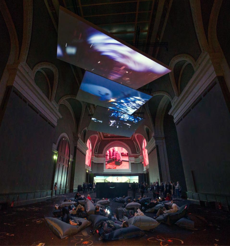 Installation Solo Show_Transformation_2016 Grand Palais_© Rmn – Grand Palais, Photo Didier Plowy_ Paris